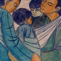Chuan Thean Teng - Two mothers with children
