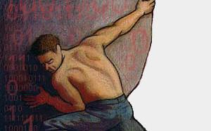 Sisyphus struggle
