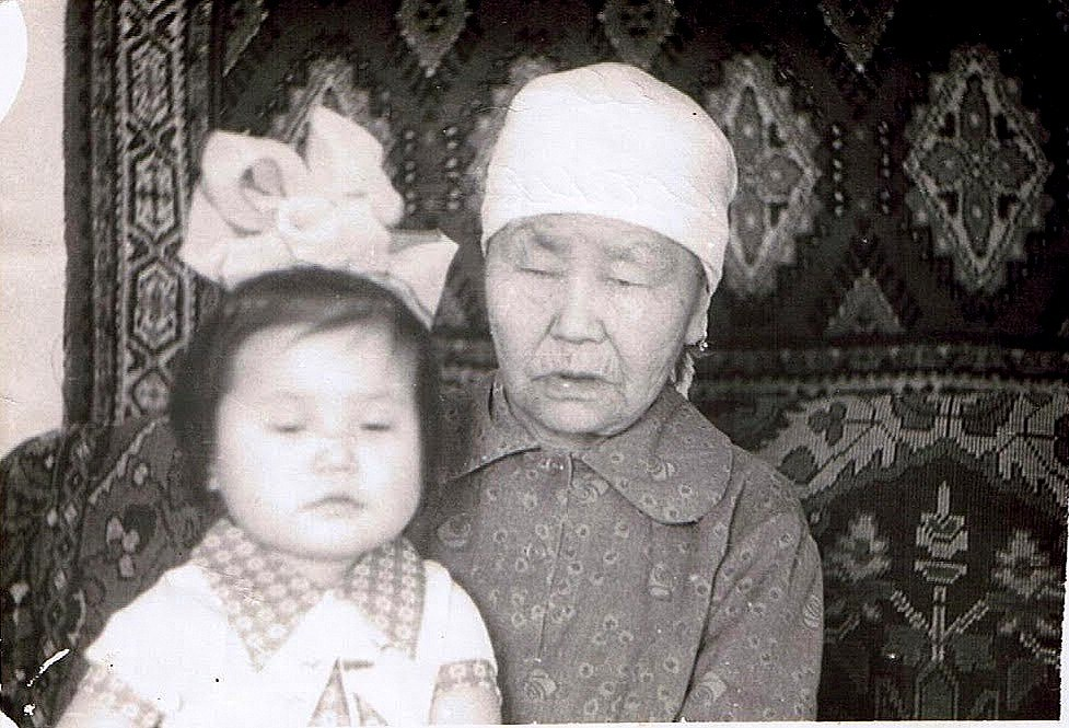 Oxanna's Buryat grandmother