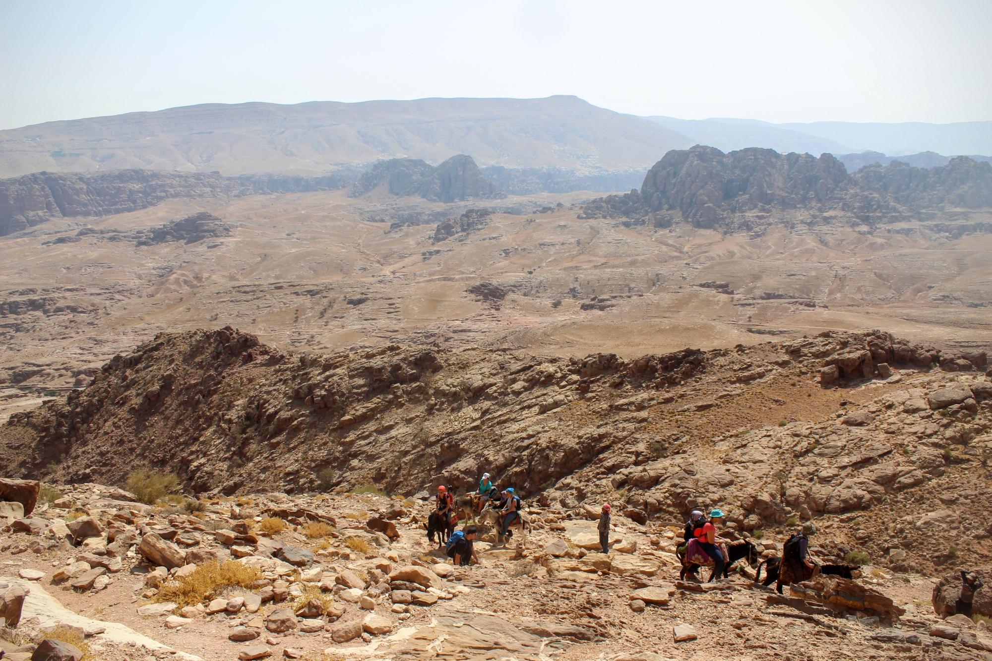 desert views, Petra