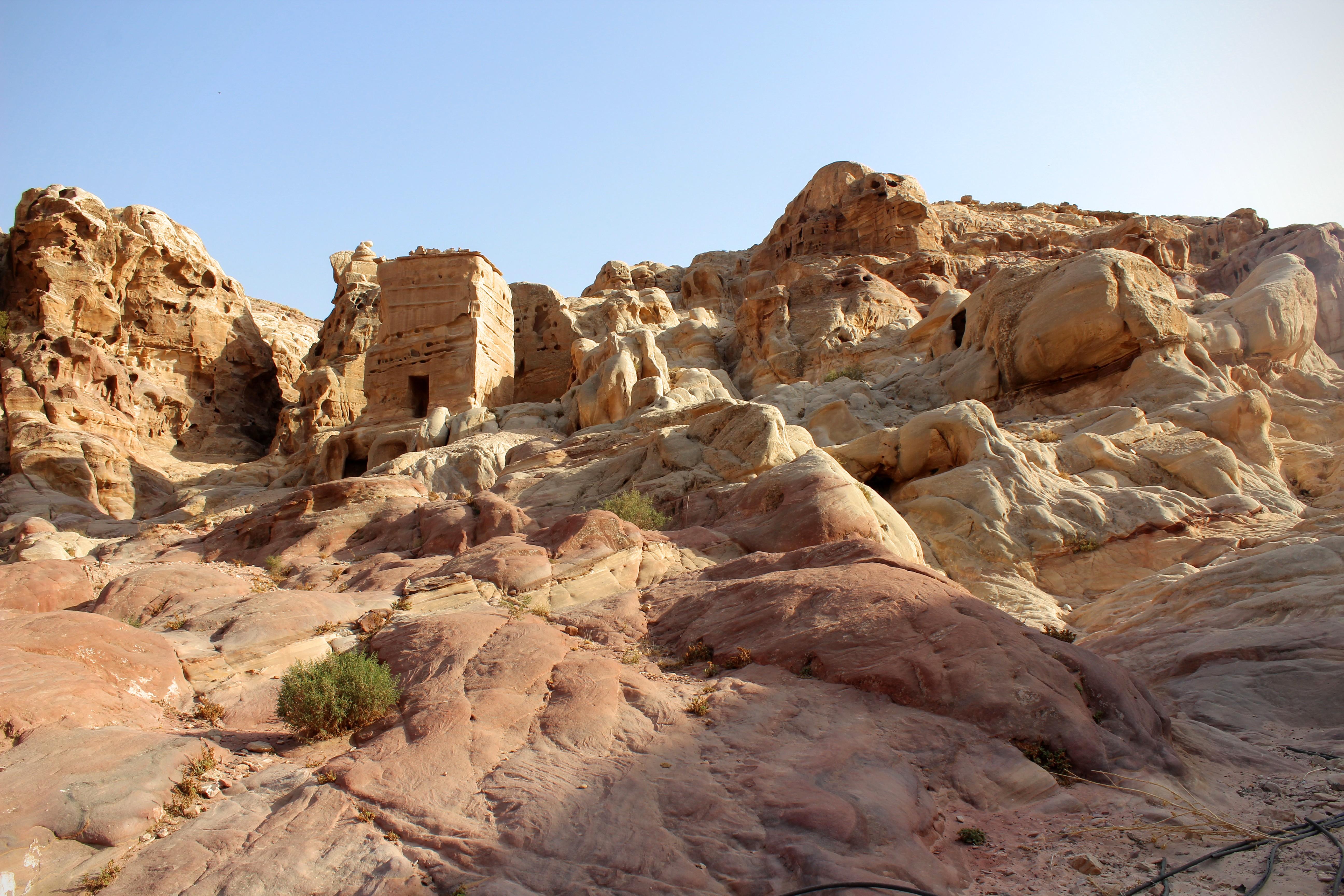 Nabataean burial tombs